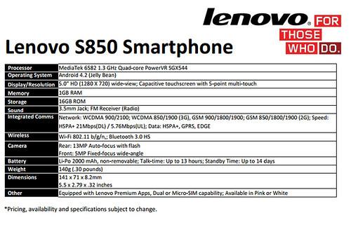 So sánh ASUS Zenfone 6 (A601CG) và Lenovo S850 - 30661