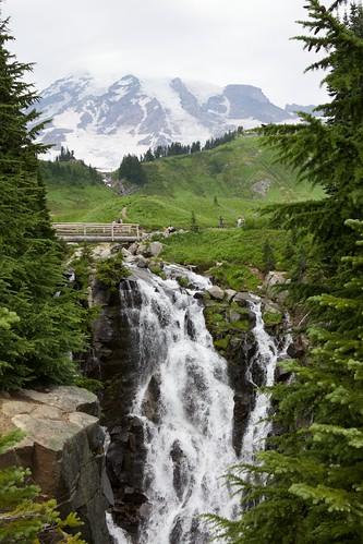 Myrtle Falls at Mt. Rainier