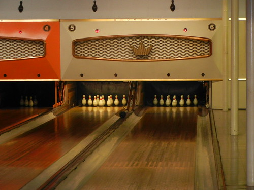 Aug 2 2014 Duckpin Bowling