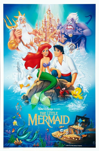 LEGO Disney Princess 41050 Ariel's Amazing Treasures The Little Mermaid Poster