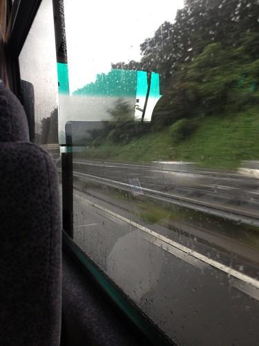 高速バスからの車窓