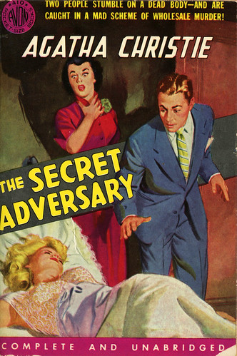 Avon Books 410 - Agatha Christie - The Secret Adversary