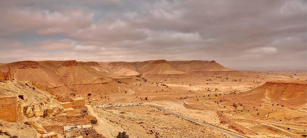 Panorama de Tunisie.