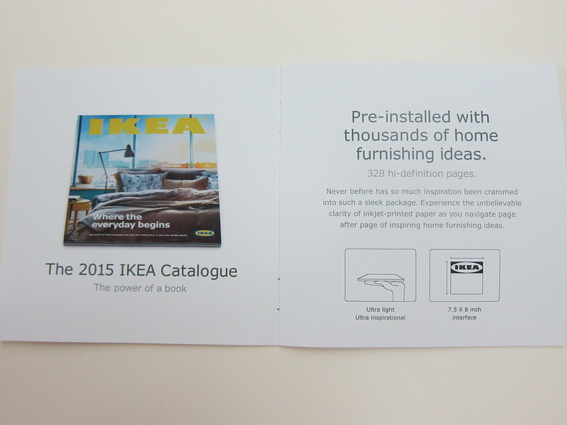 Ikea 2015 Catalogue -  Quick Start Guide Page 1