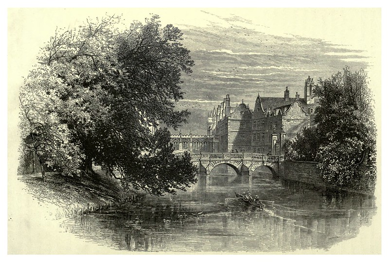 021-Los puentes en St. John's College-Cambridge-Picturesque Europe..