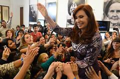 La presidenta Cristina Fernández. Foto: Ministerio de Cultura de la Nación Argentina (CC BY-SA 2.0)
