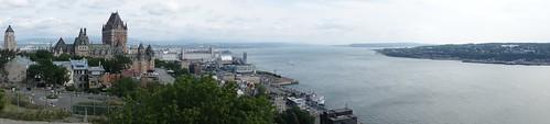 The view from La Citadelle de Québec