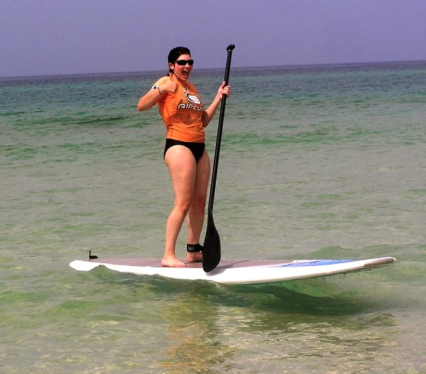 SUP surfing in PCB