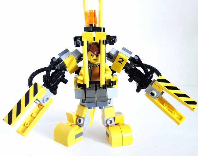 Ripley power loader front open armes