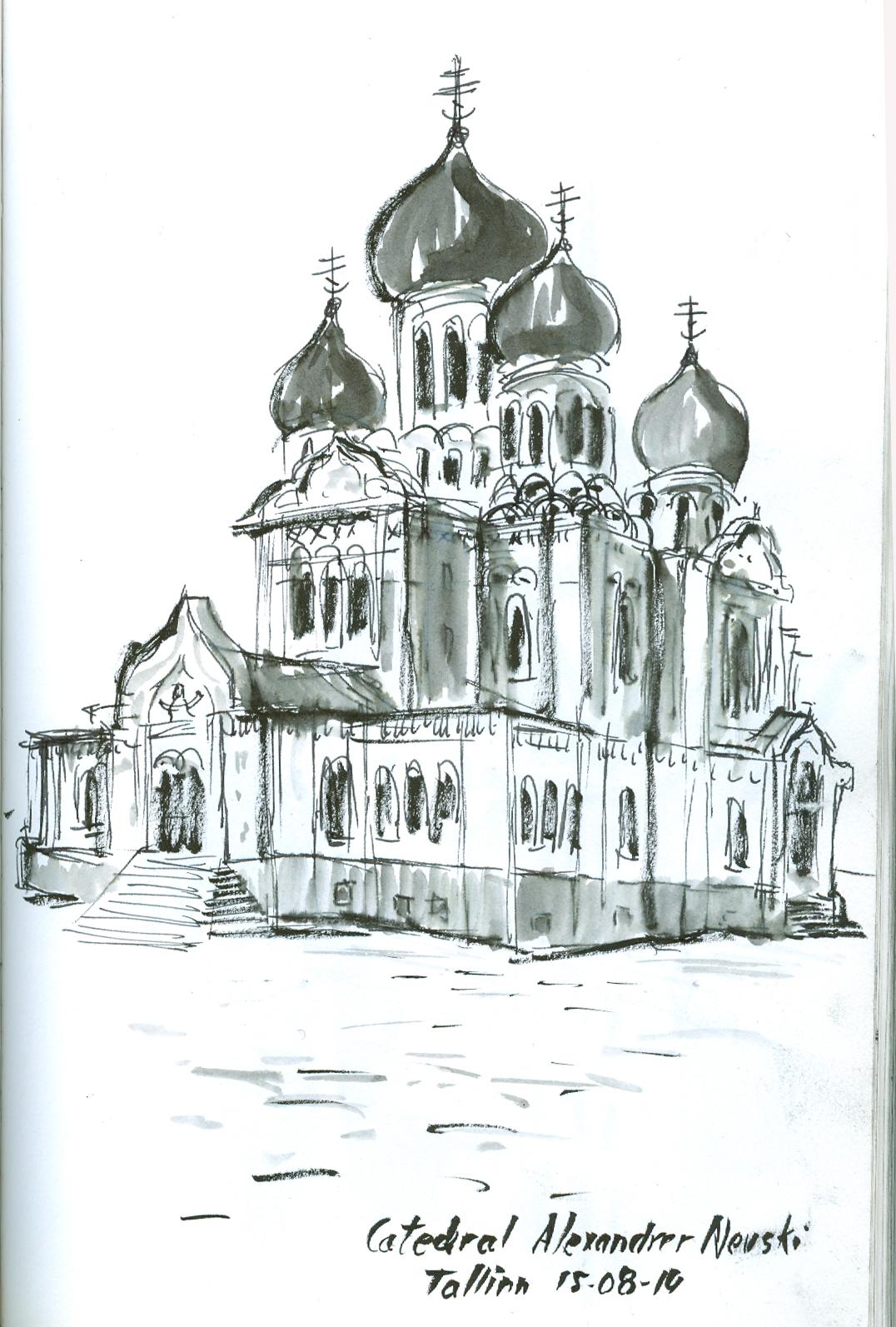 Catedral ortodoxa, Tallinn