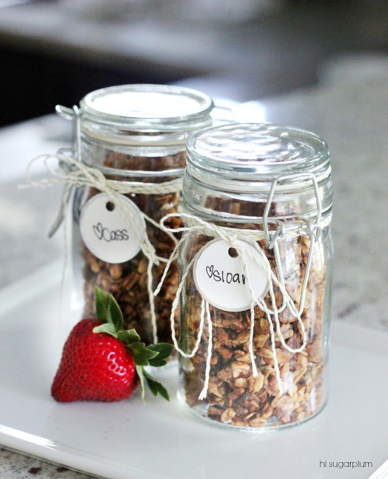Hi Sugarplum | Homemade Granola