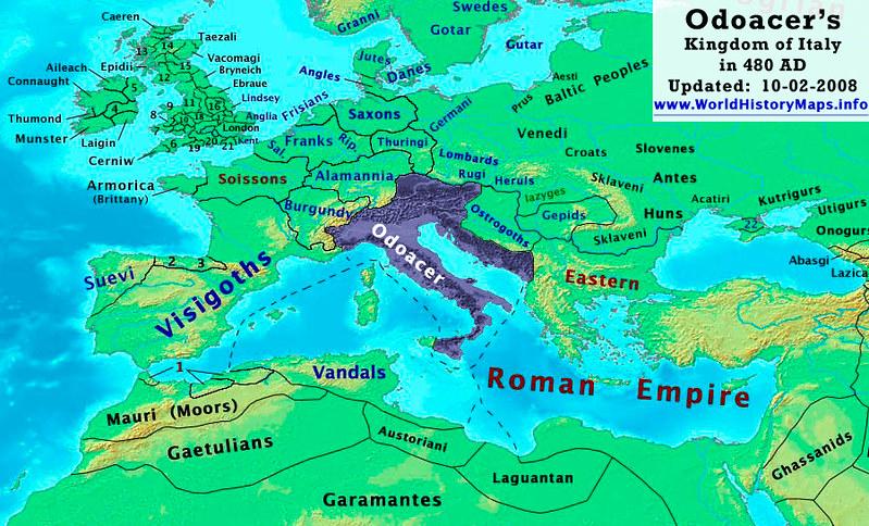 Odoacer Kingdom of Italy