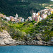 Corniglia (Italia) by an avel