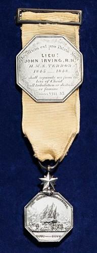 John Irving Arctic Medal
