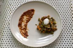 lentil stew with harissa