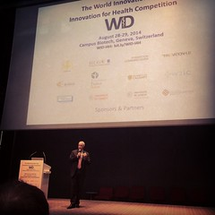World Innovation day. Intro by Prof. Didier Pittet