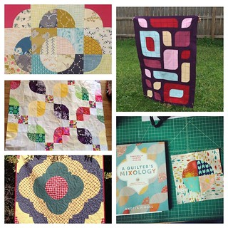 Quilts made from designs in my book!