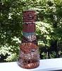 Mosaic Animal Skins Vase