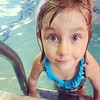 This girl loves the pool, and it makes me so happy. #swimmerforlife #waterbaby