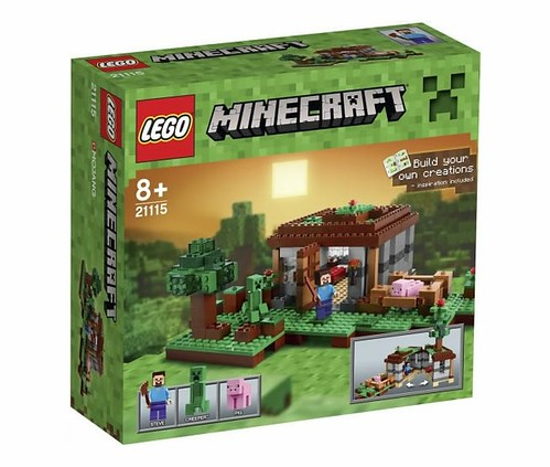 LEGO Minecraft 21115 The First Night BOX