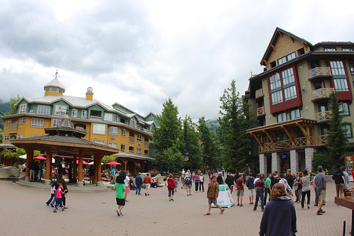 Through the Whistler Village