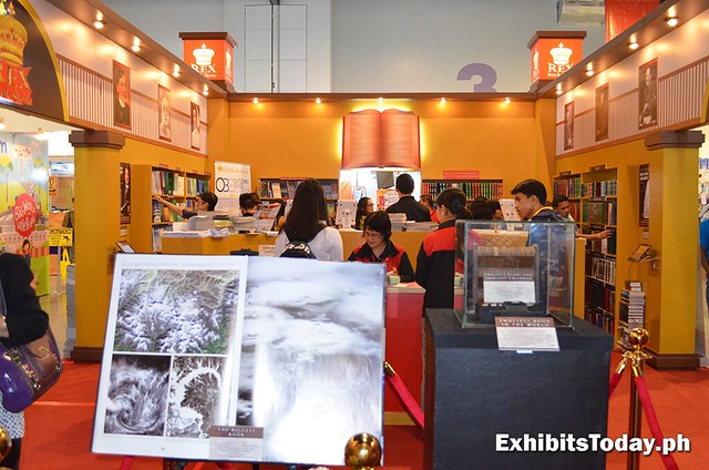 inside the Book Museum booth
