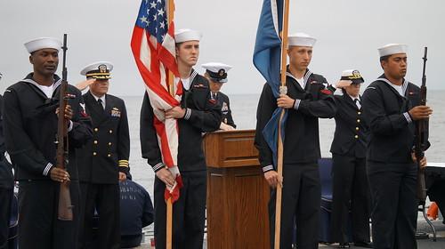 USS Ingraham Commemorates 9/11