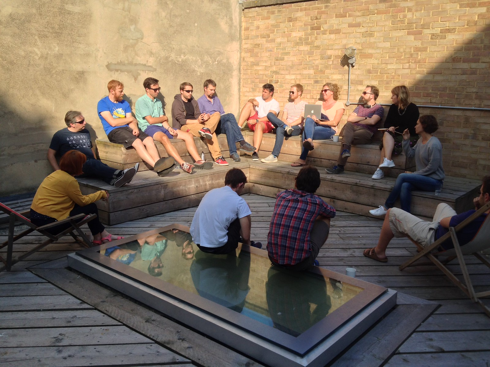 The end of summer, Monday meeting at Clearleft