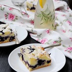 Ricotta and Blueberry Squares