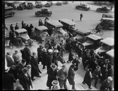 Police Attack Immigration Rally: 1930