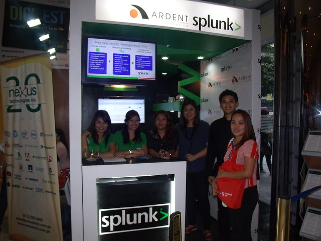 Splunk-Ardent Exhibit Booth