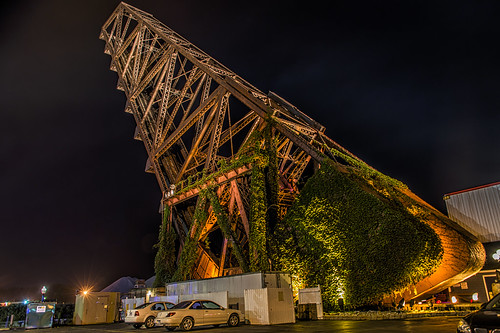 Crane in Decay by Geoff Livingston