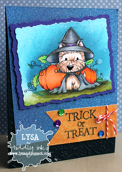 Trick or Treat: Tiddly Inks Make it Sparkle