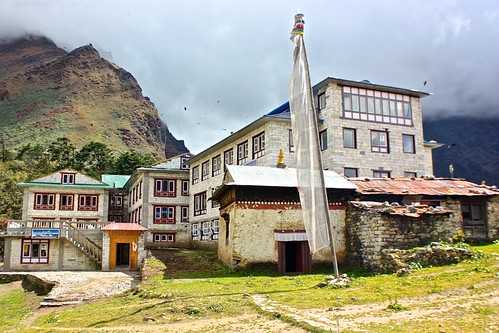 a Tengboche guest house