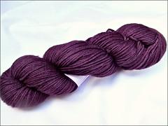 Lost in Plum yarn