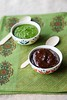Thumbnail image for Date And Tamarind Chutney/ Coriander And Mint Chutney