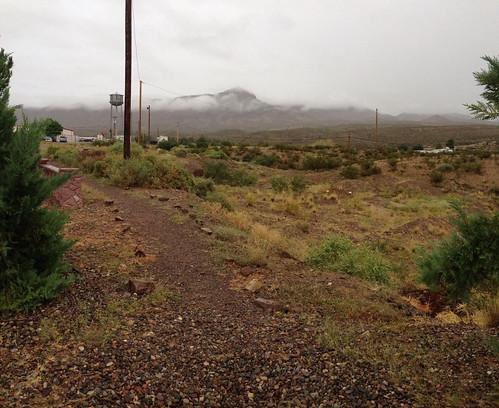 Hurricane Odile moisture in New Mexico
