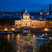 Pont des Arts from Louvre @ Blue Hour II
