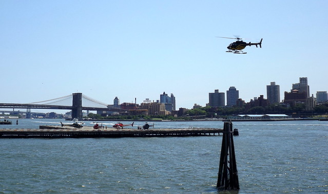 Wall Street Heliport/far