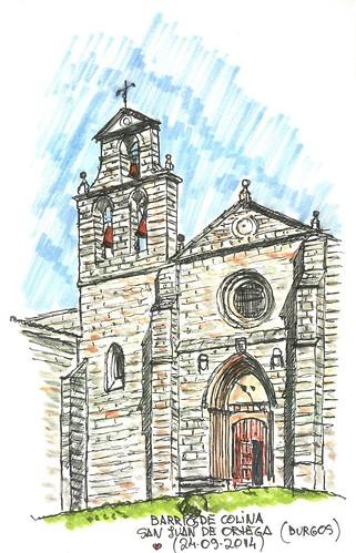 Barrios de Colina (Burgos). Monasterio de San Juan de Ortega