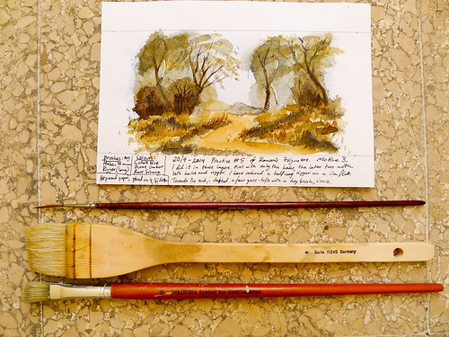 Brush practice 5, motive 3
