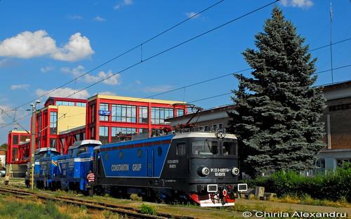 electric train rail railway trains locomotive cfr romane caile ferate 040ec le3400 konkar