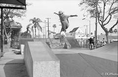 Thrashers at the Michael K. Green skatepark in Long Beach