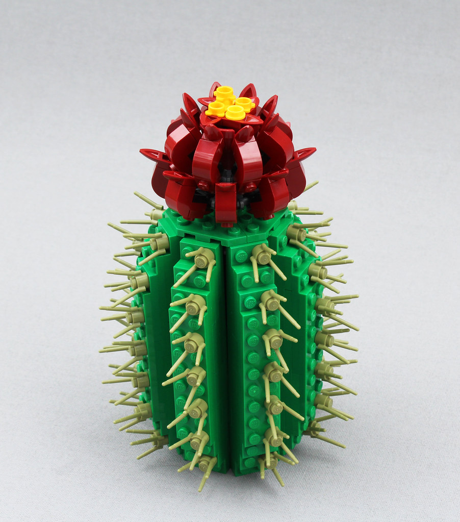 Desert Flower (custom built Lego model)