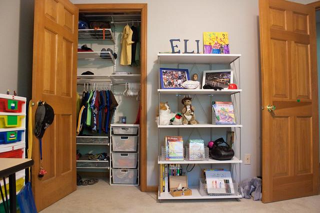 elfa closet kids