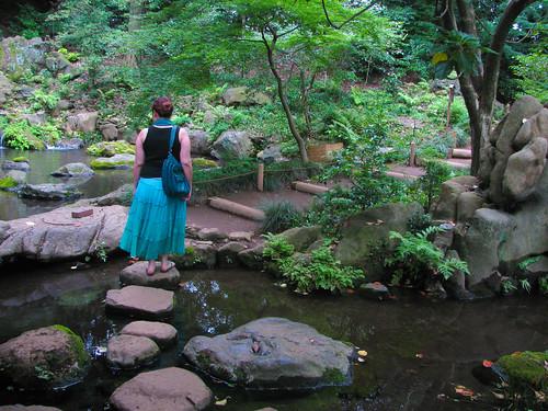 Rikugien, a Japanese garden in central Tokyo