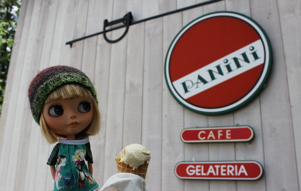 Gelato at Panini's