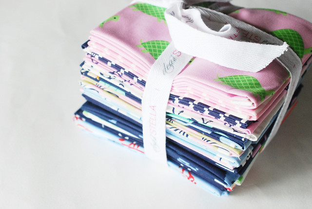 Seaworthy Fabric & Matching Floss