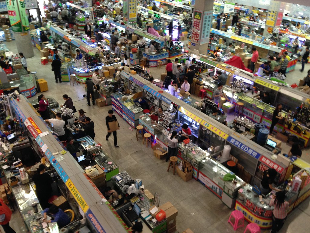 Huaqiangbei electronics markets, Shenzhen