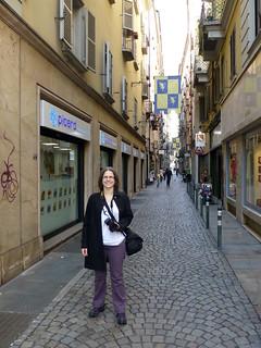Me on a Turin Street